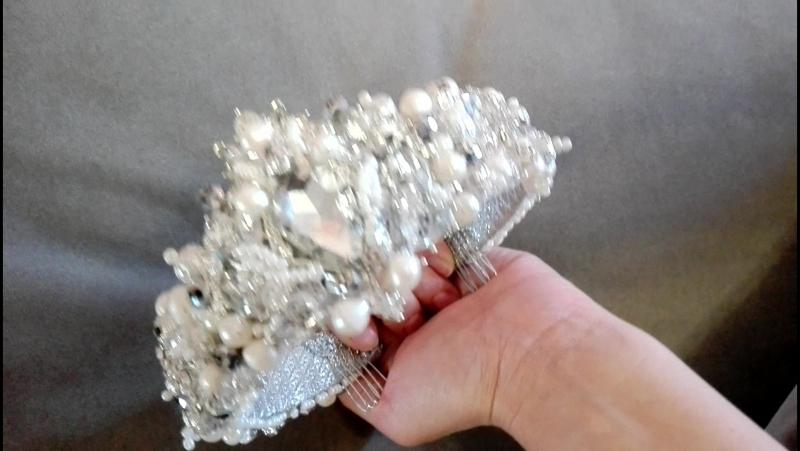 Расшитые ободки, Короны, Аксессуары для волос Romadanova 📝📅Принимаю заказы!✈Доставка по России🇷🇺 3-5 дней!🚀 👑☎8-937-170-05-72 Л