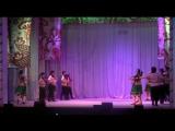 Отчётный концерт народного хореографического  ансамбля