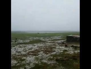 Отлив после урагана