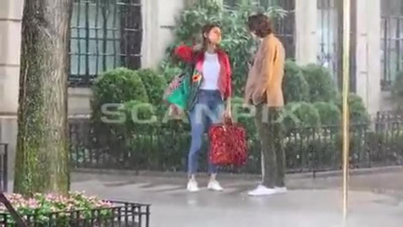На съемочной площадке нового фильма Вуди Аллена в Нью-Йорке ( 20 сентября 2017)