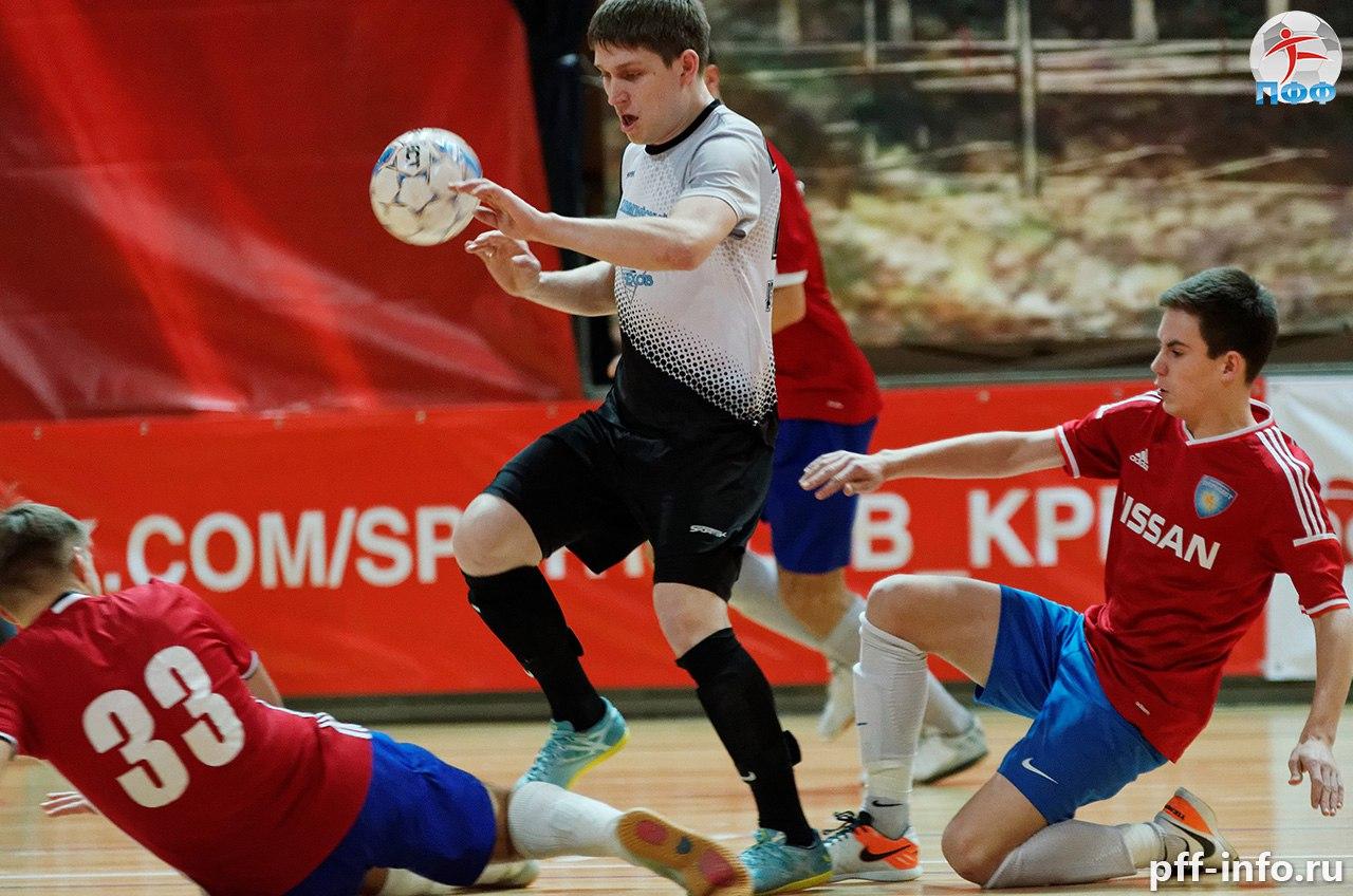«Пересвет» выиграл первый полуфинальный матч мини-футбольной Лиги Чемпионов