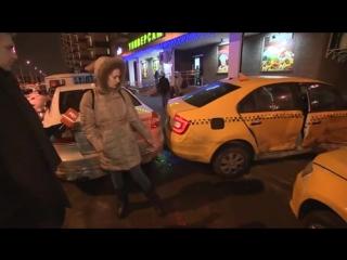 Репортаж о ревнивом таксисте из Гусарской Баллады, протаранившим своего соперника несколько раз