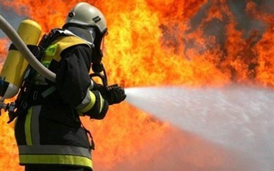 В Исправной сгорел жилой дом
