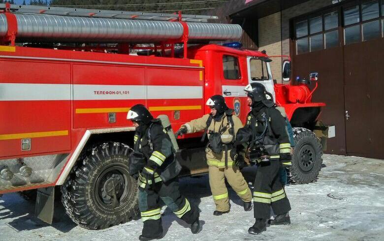 Огнеборцы Зеленчукского района провели учения