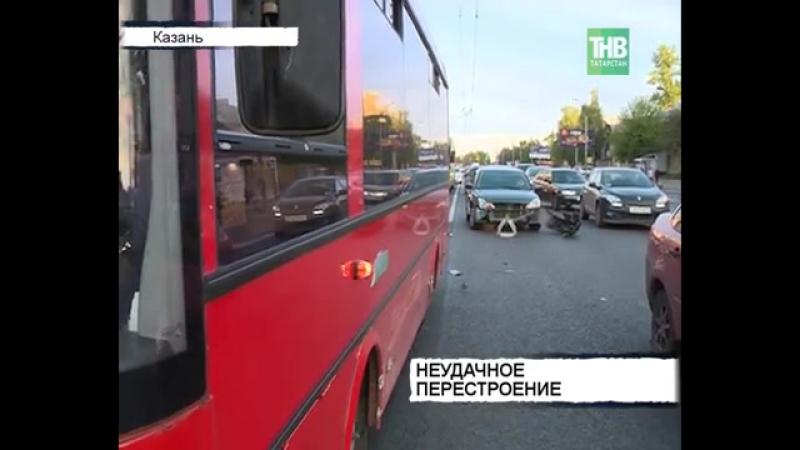▶ ДТП с автобусом