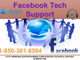 Take Facebook Tech Support 1-850-361-8504 For Instant Help