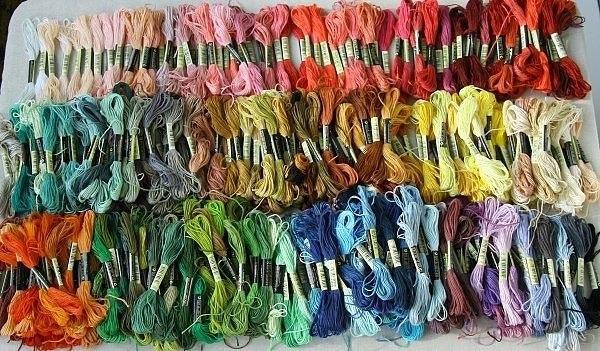 какие нитки для вышивания лучше