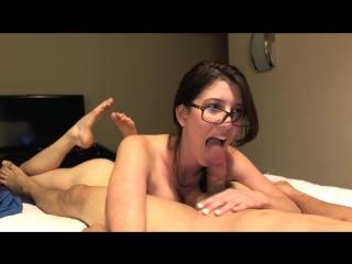 Amber hahn - justamber sloppy blowjob [720p]