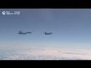 Истребитель НАТО пытался приблизиться к самолету Шойгу над Балтикой
