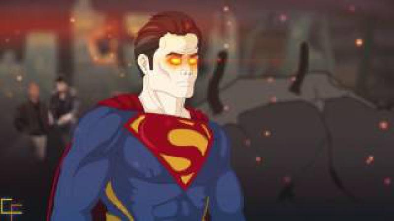 Cartoonfrax: Супермен vs Nokia 3310