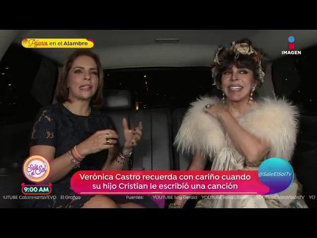Fallido, pero divertido karaoke: Verónica Castro