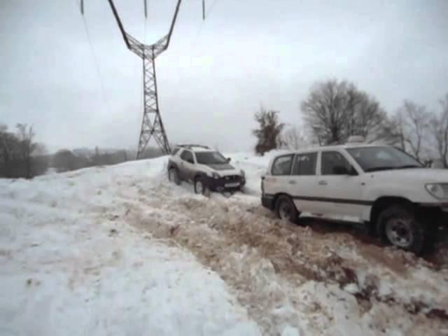 Toyota Land Cruiser- VS - Isuzu Vehicross OFF road