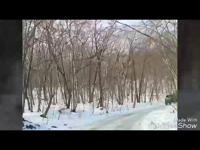 Isuzu Vehicross покатухи по царской дороге, русский остров 🏝
