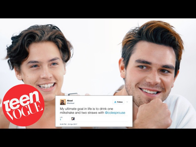 Riverdale's Cole Sprouse KJ Apa Compete in a Compliment Battle | Teen Vogue