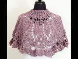 Crochet Capa Cuello # 2