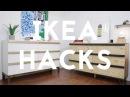 DIY MODERN DRESSER | IKEA HACK | TARVA DRESSER