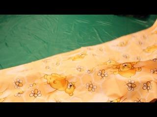 Комплект постельного белья Медвежонок-непоседа оранжевый 7823