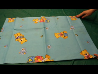 Комплект постельного белья Медвежонок (голубой) 6112