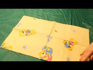 Комплект постельного белья Медвежонок (желтый) 6112