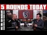 UFC 206: Fan Backlash, Weidman-Romero, RDA-Ferguson Preview on 5 Rounds Today