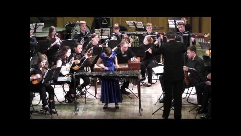 Т. Маюдзуми. Концертино для ксилофона с оркестром. Полина Вожова