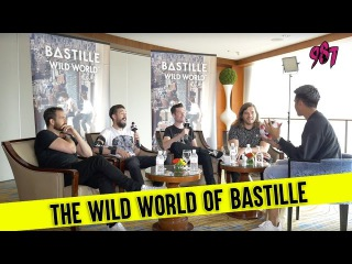 Manager broke Kyle's arm?! - An interview with Bastille