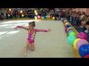 Показательные выступления по художественной гимнастике. Часть 2