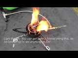 How to light a Primus Omnifuel camp stove