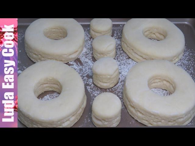 Слоеное дрожжевое тесто что можно приготовить видео