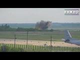 Новости • 2017 • В сети появилось первое видео крушения Ан-26 под Саратовом