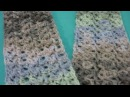 Starfish Stitch Scarf - Crochet Tutorial - New Stitch