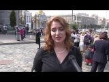 Киев, женщины на