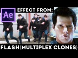 After Effects Tutorial Flash - Multiplex Clones - Matrix - Agent Smith Clones - Double Roll Cloning