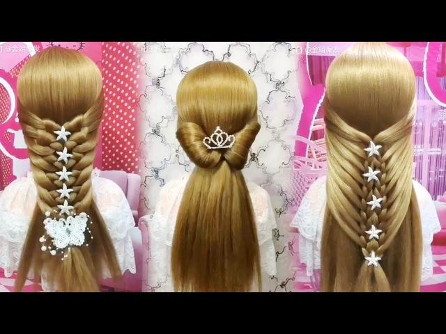 New Hairstyles for Long Hair 🌺 Best Hairstyles for Girls