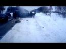 НА видеоригестратор Авария и ДТП на трассе Арзамас - Нижний Новгород ЖЕСТЬ!!