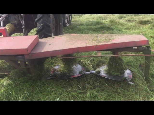 Мини обзор на роторную косилку Уралец