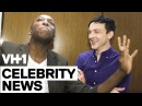 Robin Lord Taylor with Jarvis in the Elevator   VH1