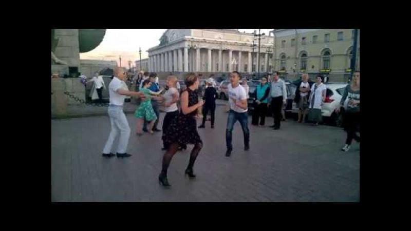 Джайв Бальные танцы на Стрелке В О от ШТ Латинский квартал