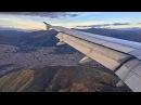 DANGEROUS APPROACH!! LATAM Airbus A319 Landing in Cusco Peru!