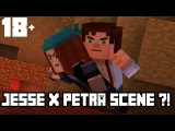 Jesse x Petra Scene! (18+) Minecraft Story Mode (