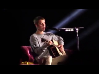 Justin Bieber Performing Cold Water Live in Monterrey, Mexico