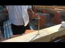 Каркасная пристройка к деревянному дому День 6