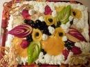 Торт Тропиканка Cake Tropic Как украсить торт фруктами