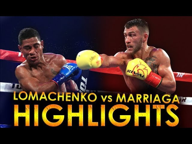LOMACHENKO vs MARRIAGA | HIGHLIGHTS HD