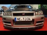Nissan Skyline R34 GTR (Z-Tune Replika) RB27DETT 650 ps Rays TE37 10.5j x R18 Tuning by Tj Imports