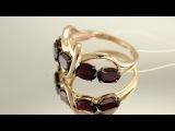 Золотое кольцо 585 пробы, АРТ. КЛ2261-2