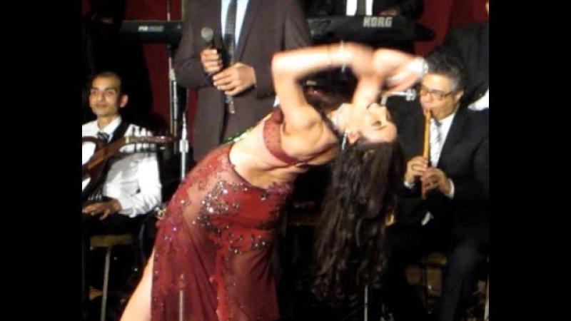 Dina Taht Al Shibak s choreography. الراقصة دينا