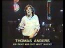 Thomas Anders Es Gent Mir Gut Heut' Nacht Mix by Goyd