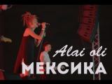 Выступление live Алай Оли на крыше - Мексика