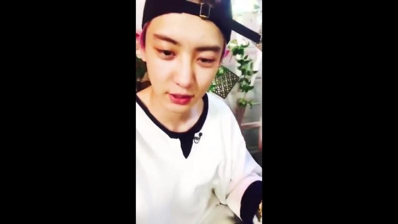 [170719] EXO Chanyeol @ V COOKIE Update